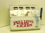 Marx Pull Lever and Learn, Tin Toy