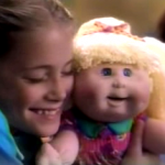 Mattel Snack Time Cabbage Patch Kid doll