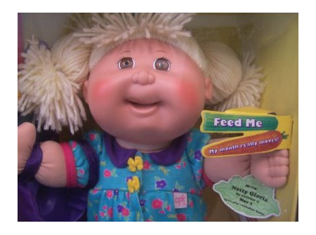 Snacktime Cabbage Patch Kids