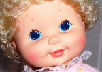 Upsy Baby by Kenner, face close-up