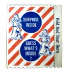 Cracker Jack Prize, front