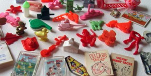 Cracker Jack Toy Prizes of the past.