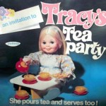 Tracy's Tea Party, by Palitoy, box front