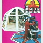 Kenner Six Million Dollar Man Mission Control Center