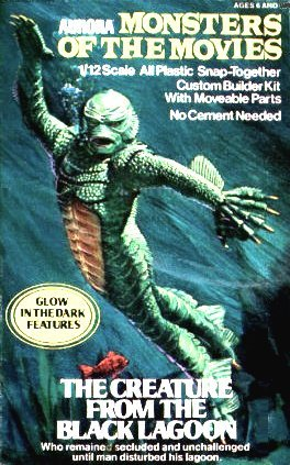 Aurora Figure Kit, Monsters Of The Movies, Creature