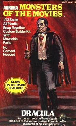 Aurora Figure Kit, Monsters Of The Movies, Dracula