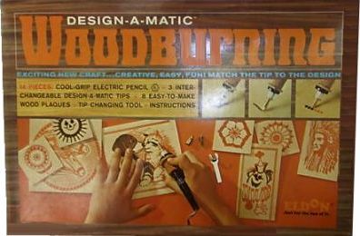 Eldon, Design-A-Matic Woodburning Set