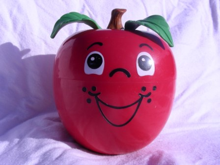 Fisher Price, Happy Apple, Roly Poly Chime Toy
