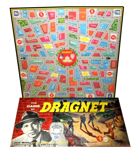 Transogram, Dragnet Board Game